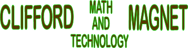 Clifford Math & Technology Magnet  Logo